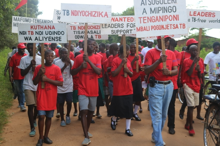 The big walk forming part of the World TB Day Commemoration activities